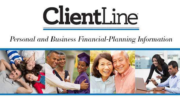 ClientLine - Personal and Business Financial-Planning Information - Collage of 4 photos with people of various ages and ethnicities